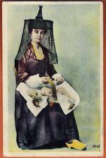 Carte postale - Anciens Costumes Bressans - Une Bressane - Réf-A.33