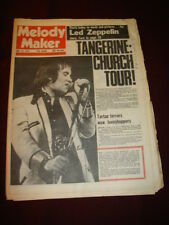 MELODY MAKER 1975 MAY 10 MUD TANGERIE DREAM BAY CITY ROLLERS LED ZEPPELIN SLADE