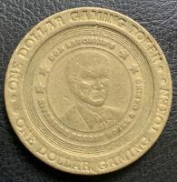 RIVERSIDE RESORT CASINO $1.00 Don Laughlin Gaming Token Nevada 1999