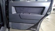 95 Volvo 850 T5-Right Rear Black Leather Door Panel OEM