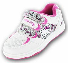 Girls Kids Hello Kitty Cartoon Character Gardenia Casual Trainer Shoe