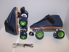 NEW RIEDELL 911 SNYDER ADVANTAGE LEATHER ROLLER SKATES MENS SIZE 7