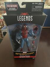 marvel legends spiderman homemade suit