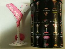 """Lolita """"Miss Martini"""" Martini Glass Retired-New In Box with tag, GORGEOUS!"""