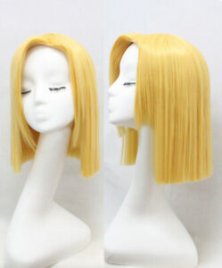 Dragon Ball Z Android 18 Cosplay Wig