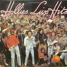 Hollies(Vinyl LP)Live Hits-Polydor-2383 428-65-1976-VG/NM