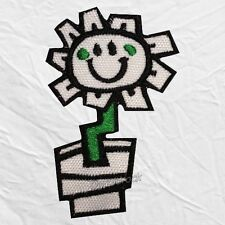 Green Day Kerplunk Flower Logo Embroidered Patch Rock Band Billie Joe Armstrong