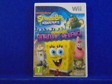 Wii SPONGEBOB SQUAREPANTS Plankton's Robotic Revenge Nintendo PAL