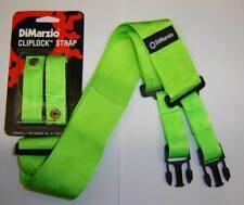 Dimarzio Verde Cliplock CORREA se ajusta Ibanez Steve Vai LNG Lago Ness Jem 7 V RG S