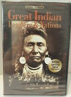 Great Indian Leaders and Nations DVD 2007 Wimmer American Indian New Sealed