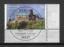 Bund Mi.Nr. 3310 (2017) gestempelt m. ESST (Berlin)/Europa: Burgen und Schlösser