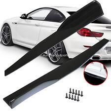 Side Skirts For Cars Winglet Wing Shovel Rocker Splitters Protector