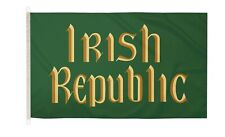 DuraFlag  Easter Rising Irish Republic 5ft x 3ft Flag with Clips And Hooks
