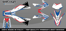 KIT ADESIVI GRAFICHE RACE ONE AMERICA FANTIC CABALLERO 50 - 125 4 T DECALS DEKOR