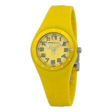 Momo Design Mirage Yellow Dial Yellow Silicone Ladies Watch MD2006YW-31-AU