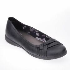 Evans Synthetic Leather Extra Wide (EEE) Shoes for Women
