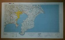 1945-6 US Army Map Collection - Japan Road Maps; 8 sheets 1:250,000