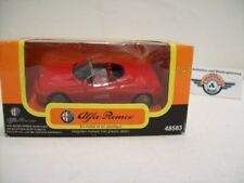 "Alfa Romeo Spider (916) ""Set consists"", red, 1996, New-Ray 1:43, embalaje original"
