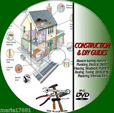 DIY + CONSTRUCTION SKILLS TUITION PC DVD NEW KITCHEN BATHROOM GARDEN PROJECTS