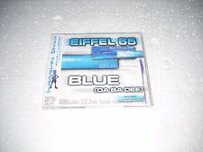 EIFFEL 65 - BLUE cd single - JAPAN CD JEVEL CASE