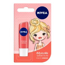 Nivea Care Fruity Peach Shine Moisturizing Tinted Lip Balm 4.8 g