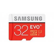 Samsung 32gb EVO Plus Micro SD Card With Adapter Class 10 SDHC