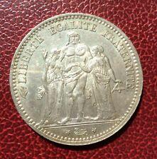 France - 3 ème République - Superbe  monnaie de 5 Francs  1874  A Hercules