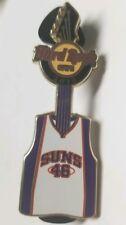 Hard Rock Cafe Phoenix Suns Basketball NBA Jersey Guitar pin