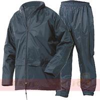 Rainsuit Waterproof Storm Jacket & Trouser Set Mens Ladies Coat, 2 Piece Suit