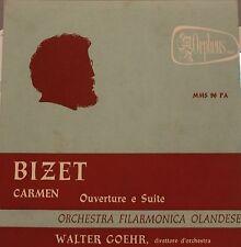 16 - 33 giri- BIZET-CARMEN-OVERTURE E SUITE ORCH.FILARMONICA OLANDESE  5/16