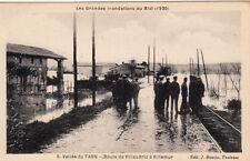 VILLEMUR 1930 inondations 5 route de villaudric éd bouzin