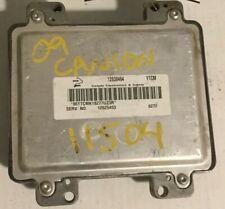 2009 GMC Canyon ECU ECM Engine Control Module PCM l 12630464
