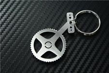 BIKE CRANK Keyring keyfob Schlüsselring porte-clés MOUNTAIN ROAD BMX PEDAL WHEEL