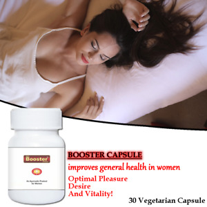 Booster Capsule Women 30 Power Pills - Improves Desire & Mood Helps In Sex Drive