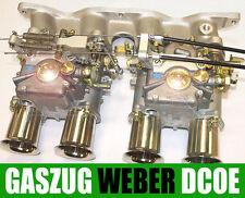 CNC Gaszug Gaszughalter Weber 40 45 48 DCOE Doppelvergaser Vergaser Ansteuerung