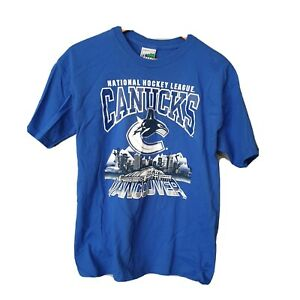 NHL Vancouver Blue Size XL T-shirt