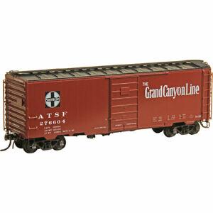 HO Scale - KADEE 4328 ATSF-SANTA FE 40' PS-1 Boxcar 6' Door # 276604