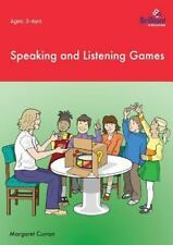 SPEAKING AND LISTENING GAMES - NEW PAPERBACK BOOK
