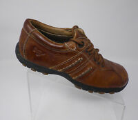 Doc Martens DR Womens Shoes Brown Leather Oxford Size 6 M Lace Up Walking