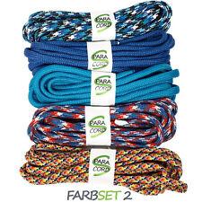 Paracord Starterset Armbänder Farbset 2 - 5x Bänder und Steckschnallen