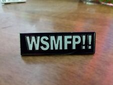 "Widespread Panic  ""Wsmfp! "" Pin Free Shipping! Wsp Grateful Phish"