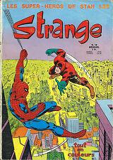 RARISSIME EO STAN LEE + COLLECTIF 5 AVRIl 1971 REVUE STRANGE N° 16 ( BON ÉTAT  )