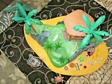Playmobil 3799 Pirate Secret Island Turtle Cove Almost Complete