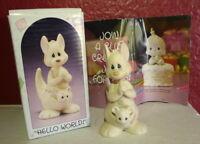 Precious Moments Kangaroo Hello World 1988 Birthday Series Enesco