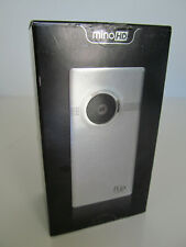 Mino HD Flip Brushed Metal Video Camcorder 120 Minutes 8GB Black