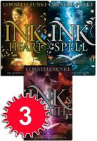Inkheart Trilogy Collection 3 Book Set Series Pack Inkspell, Inkdeath, Inkheart