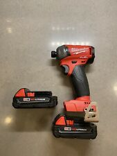 MILWAUKEE 2760-20 M18 FUEL SURGE 1/4 In. Hex Hydraulic Impact Driver (2) 1.5 AH