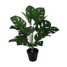 60Cm Tall Potted Artificial Monstera Home Decor Fake Plant Indoor Fake Flowers
