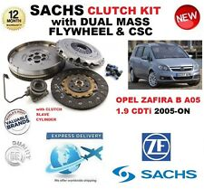 FOR OPEL ZAFIRA B 1.9 CDTi CLUTCH KIT 2005-ON SACHS incl FLYWHEEL, CSC + BOLTS
