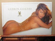 vintage 1998 Carmen Electra Playboy Star Series original hot girl poster 7962